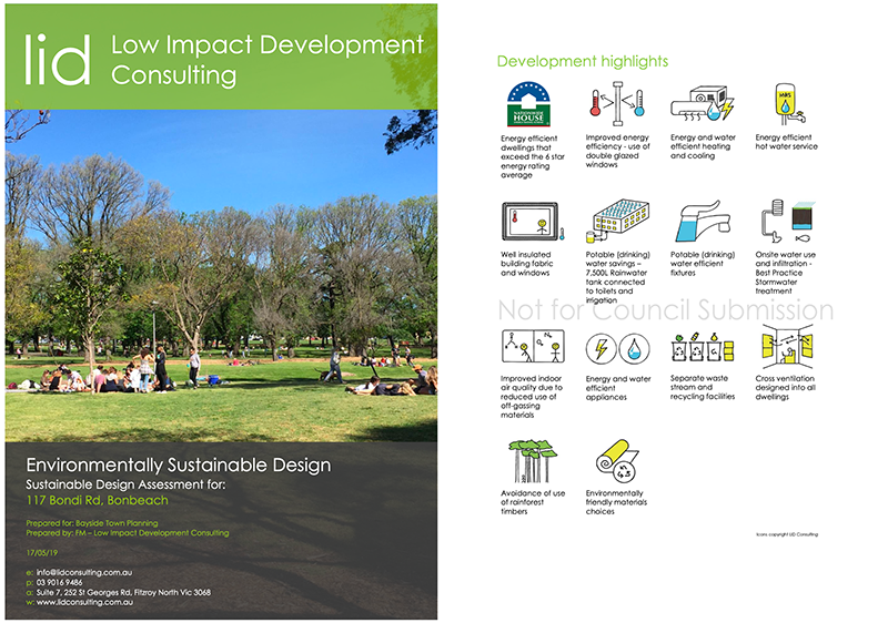 ESD Report Sustainability Design Assessment