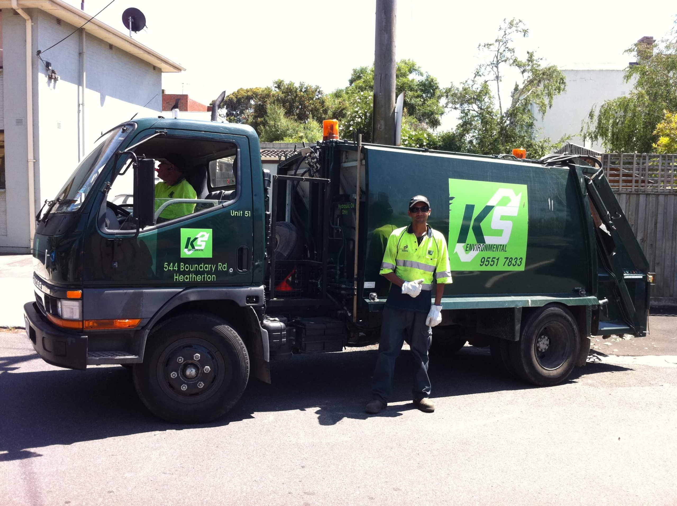 recycling truck for waste management plans