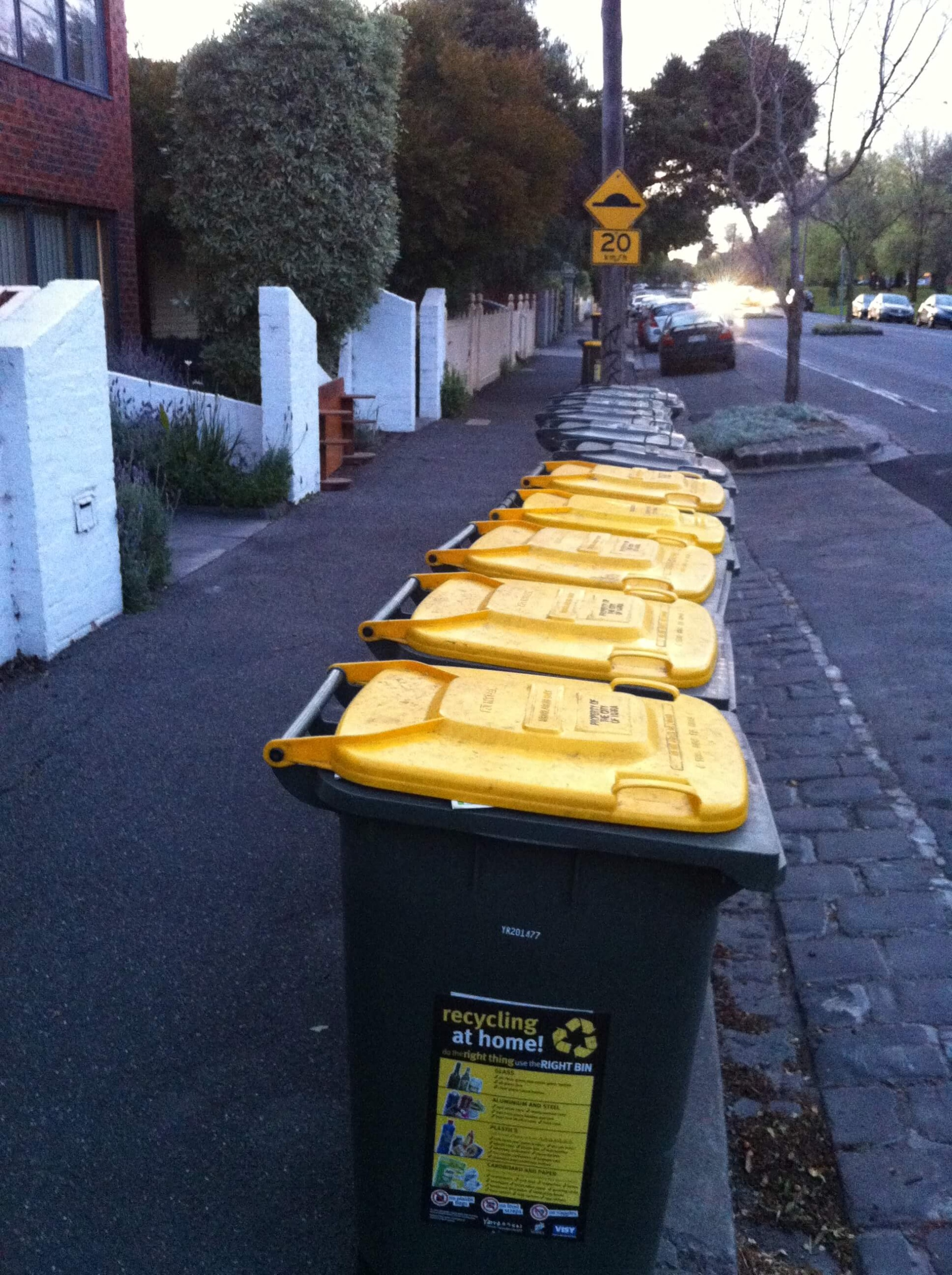 recycling bins for waste management plans