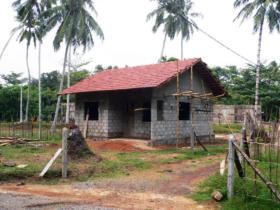 16. Single dwelling near completion