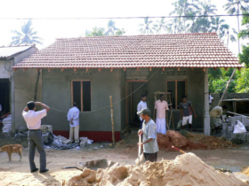 17 Single dwelling near completion. Note the renedered wallsjpg