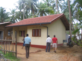 18. Complete single dwelling. Note finished render