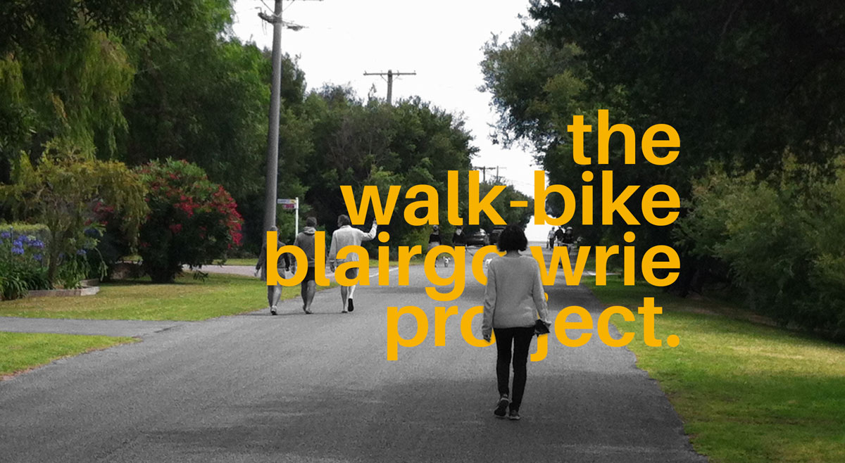 Walk Bike Blairgowrie Project